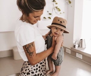tattoo, baby, and family image
