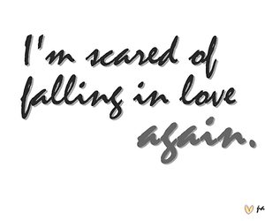 scared, text, and typography image