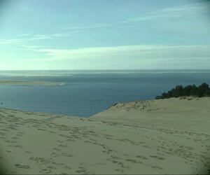 aesthetic, bay, and dune image
