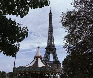 eiffel tower, la vie en rose, and parigi image