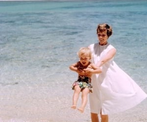 beach, julie andrews, and mother image