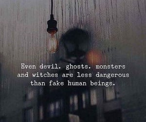 beings, dangerous, and Devil image