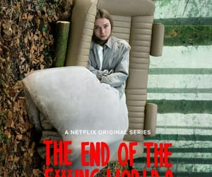 serie, the end of the f world, and netflix image