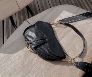 accessory, black, and aesthetic image