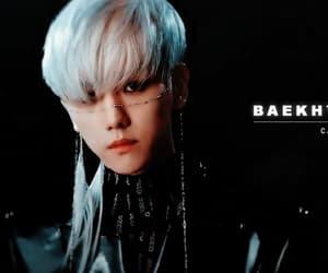 baekhyun, exo, and gif image