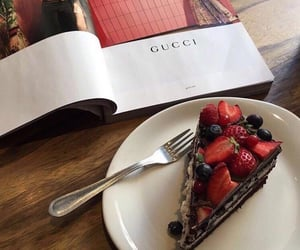 cake, food, and gucci image