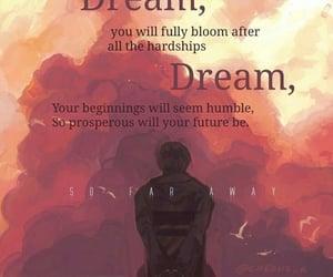 away, Lyrics, and Dream image