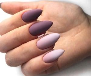 fall nails color image