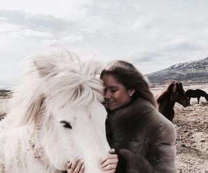 girl, horse, and fashion image