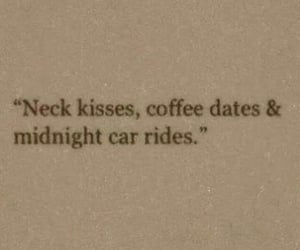 quotes, kiss, and coffee image