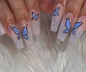 aesthetic, beauty, and butterflies image