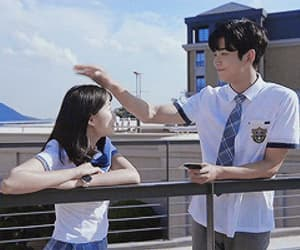 gif, Korean Drama, and rowoon image