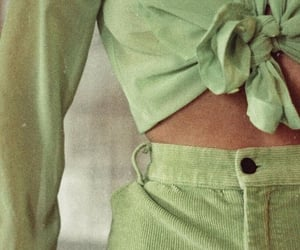 green, fashion, and aesthetic image