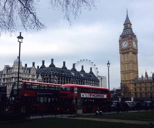 travel, Big Ben, and clouds image