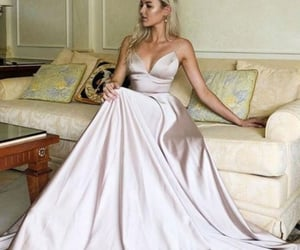 charming, fashion, and prom dress image