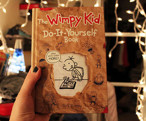 photography, book, and the wimpy kid image