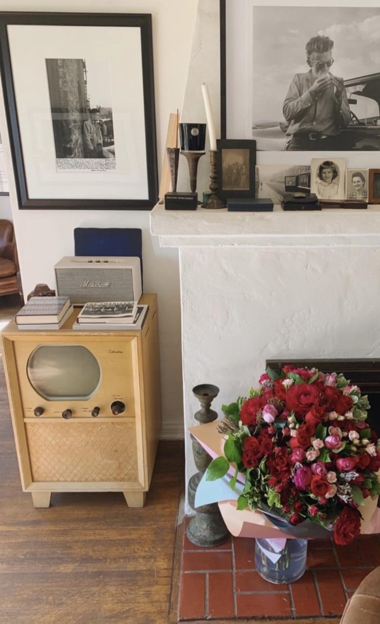 flowers, marshall, and retro image