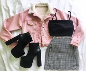 moda, outfits, and pink image