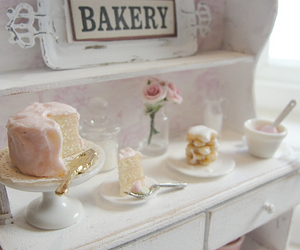 bakery, cake, and pink image