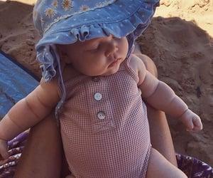 babies, nap, and summer image
