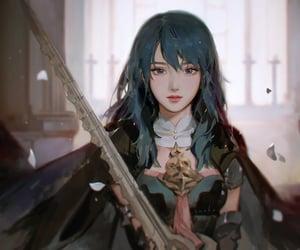 anime, beautiful, and black image