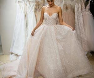 wedding dress, ivory wedding dresses, and wedding dresses lace image