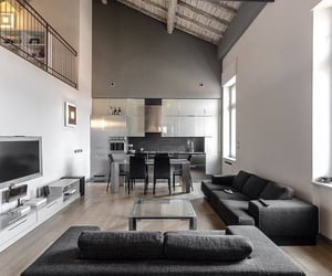apartment, decor, and modern image