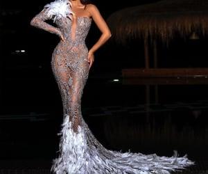 classy, model, and eveningdress image