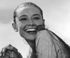 audrey hepburn and smile image
