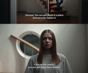 Alyssa, quotes, and sad image