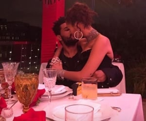 couple, love, and the weeknd image