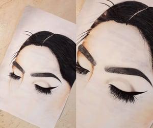 alternative, art, and makeup image