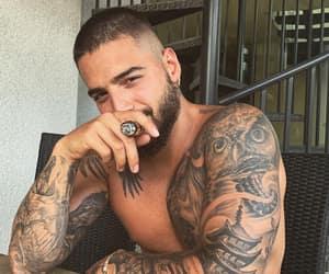 maluma and tattoo image