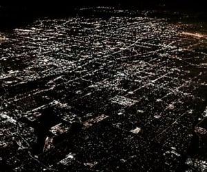 city, light, and vogue image