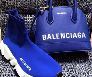 Balenciaga, purse, and sneakers image