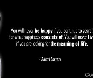 albert camus, meaning of life, and the man image