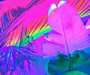 aesthetic, headers, and neon image