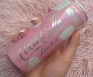 pink, coca cola, and coca-cola image