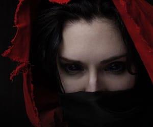 dark, demonic, and fantasy image