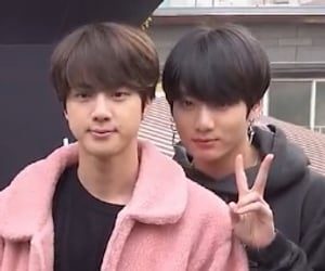 jin, tiny, and bts image