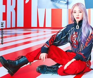 boots, red, and wheein image