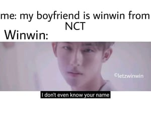 winwin, meme, and nct image