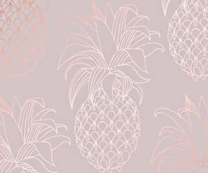ananas, pink, and wallpaper image