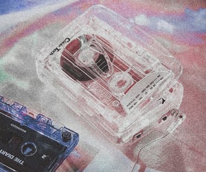 aesthetic, cassette, and music image