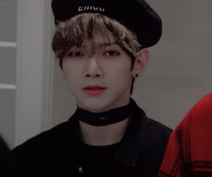 visual, ateez, and yeosang image