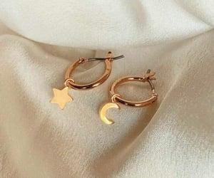 earrings, fashion, and beauty image