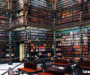 books, library, and Dream image
