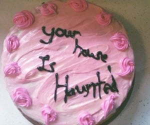 cake and haunted image