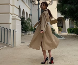 fashion, beige, and girl image