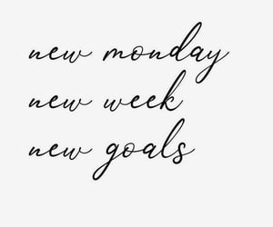 care, goals, and monday image